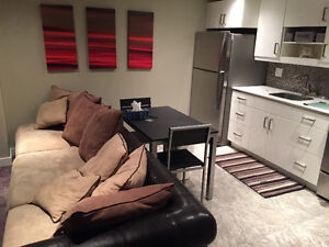 FULLY FURNISHED, EVERYTHING INCLUDED BASEMENT APARTMENT