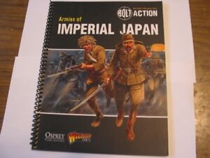 Bolt Action 28mm Imperial Japanese Army