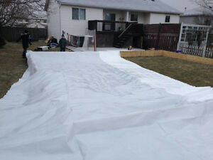 Rink Liner – 40' x 40' – 6 mil, 4 ply Kitchener / Waterloo Kitchener Area image 2