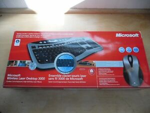 Microsoft Keyboard wireless Laser Desktop 3000