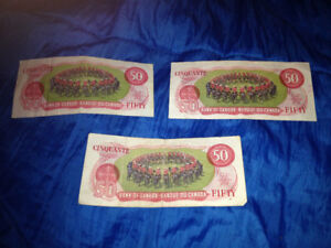 Vintage Canadian Currency (Bills and Coins)