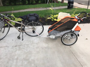 Lightly used Thule single chariot cougar 1