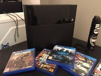 PS4 (Optional selection of games)