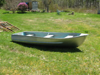 12 ft aluminium boat and Mercury Motor selling as a package