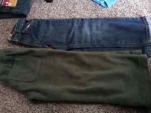 Boys jeans old navy and thick fleece pants size 5 - NEW PRICE!