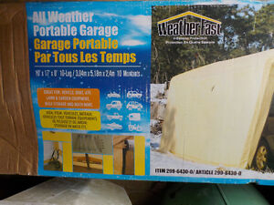 All Weather Portable Garage   FOR SALE