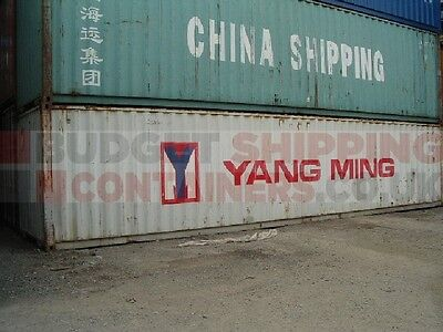 Used 20ft and 40ft CSC plated Shipping Containers