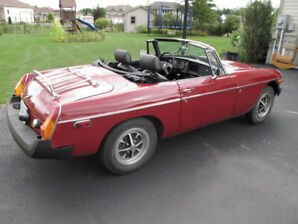 1980 MGB, fully restored in 2004 low km since!
