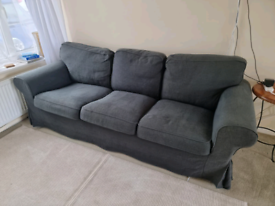 Navy 3 Seater Sofa/couch