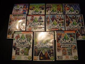 Lot de jeux les Sims 3 Saguenay Saguenay-Lac-Saint-Jean image 3