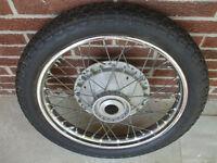 60's+ Triumph front wheel