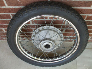 60's+ Triumph front wheel Stratford Kitchener Area image 1