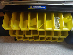 New Utility Parts Rack - all bins and spacers included