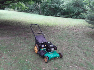 Weed Eater 3 in 1 Big Wheel Mower - Excellent Condition.