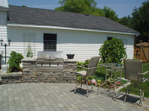 PAVING STONE, PATIOS, STONEWORK, BUILT-IN BBQS, HOT TUB AREAS London Ontario image 10