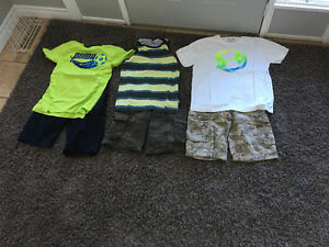 3 Boys Short Outfits