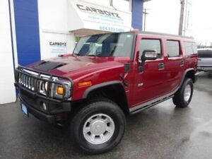 0 Hummer H2 4x4, Leather, B.C. Vehicle, Only 116,381 Kms.