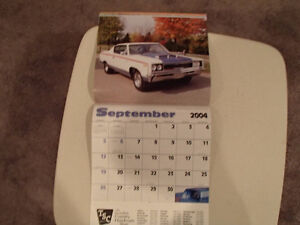 New 2004 MUSCLE THUNDER CAR CALENDAR. Sarnia Sarnia Area image 7