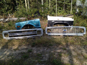 Loads of 1970's Chevy/GMC parts for sale