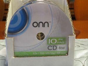 New Rewritable CD discs