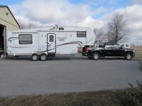 2011 fifth wheel and 2011 gmc truck