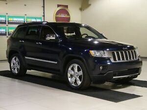 2012 Jeep Grand Cherokee Overland 4WD CUIR TOIT NAV MAGS