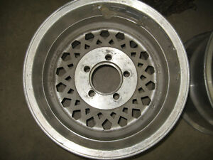 14X10 Aluminum Western wheels, 5X4.5, sell or trade London Ontario image 3