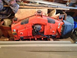 Used 2 times only 54 in  mower deck  KUBOTA