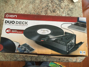 Ion duo deck record player - digital file
