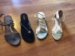 BRAND NEW - Four pairs of designer flats, size 7