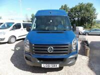 Volkswagen Crafter Cr50 Tdi Maxi Minibus 2.0 Manual Diesel PSV Tested