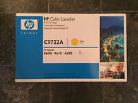 HP 4600 YELLOW TONER CARTRIDGE C9722A MINT