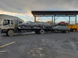 Cash $$ for Scrap vehicles junk car removal and towing services