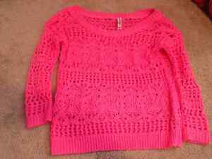 New Price! Aeropostale Pink Sweater For Sale Kawartha Lakes Peterborough Area image 1