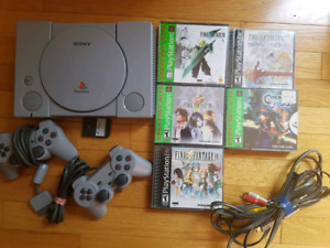 Playstation 1 with RPGs