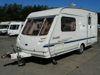 Sterling Hallmark Vitesse 460 Lightweight 2 Berth Caravan For Sale