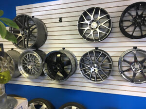 NEW AND USED WINTER TIRES & RIMS