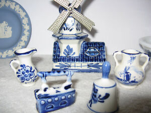 Lot of Vintage Delft, Wedgewood and Avon London Ontario image 1