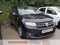 DACIA SANDERO LAUREATE 2013 Petrol Manual in Black