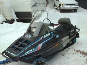 Looking for parts or parts sled for a 1992 Polaris Indy 500 efi