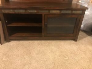 TV and media cabinet