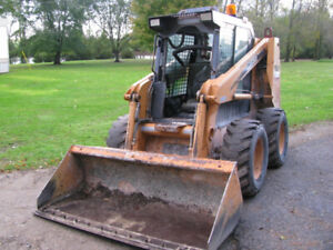2004 Case 70XT Skidsteer clean cond, low hours, with forks