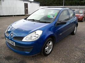 2007 Renault Clio 1.2 Extreme 81K FSH 3Dr Blue Low Insurance Group VGC