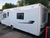 2015 Lunar Clubman SB 4 Caravan FIXED SINGLE BEDS, MOTOR MOVER, BARGAIN !!