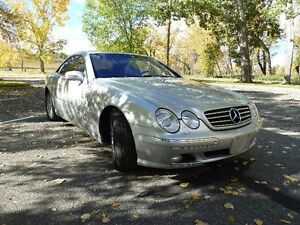 2000 Mercedes-Benz CL-600 Coupe (2 door)