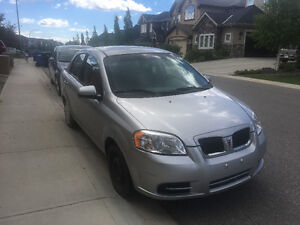 2009 Pontiac G3 Wave Sedan