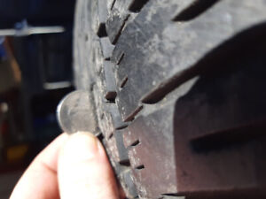 Two- P225/ 60r16  Firestone FR710 summer tires for sale