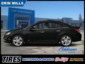 2015 Chevrolet Cruze LT  My Link Bluetooth Rear Camera