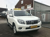 2012 TOYOTA LAND CRUISER 3.0D-4D LC5 7 SEAT AUTOMATIC ( AA ) WARRANTED INCUDED