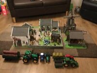 Children's Early Learning centre Farm set